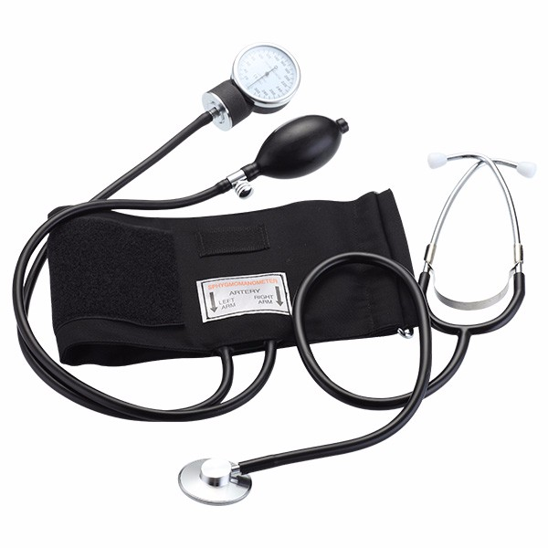 Standard Aneroid Sphygmomanometer with Stethoscope PM010020008